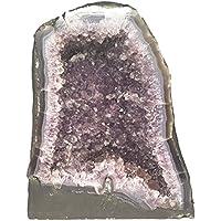 KRIO Amethyst Druse/Amethystdruse Brasilien Sammelobjekt Kristallrasen natur als Dekoartikel Gesamtgewicht 6,5 kg preisvergleich bei billige-tabletten.eu