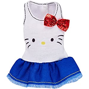 Barbie Fashions Hello Kitty Ruffled Tank with Red Bow