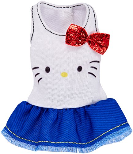 Barbie Fashions Hello Kitty Ruffled Tank With Red Bow -