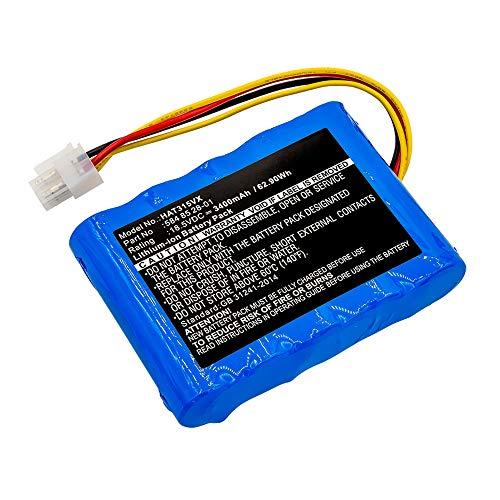 subtel® Premium Akku (18.5V, 3400mAh, Li-Ion) kompatibel mit Husqvarna Automower 310, Automower 315-584 85 28-01, 584 82 28-02 Ersatzakku Batterie Werkzeugakku