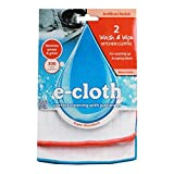 Pack Of 4 : (4 PACK) - E-Cloth Antibacterial Wash & Wipe Kitchen Cloth   2 pac pack   4 P