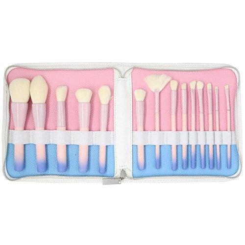 14pcs Cosmétiques Pinceaux kit Rose Correcteur de Dégradé/Oeil/Ombre/Sourcils/Pinceau de Maquillage pour les Lèvres