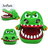 Cute Gifts Crocodile Mouth Dentist Bite Finger Game Funny Toys for Children Kid adult EU-SPT-018