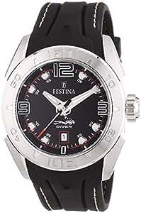 Festina - F16505/3 - Montre Homme - Quartz - Analogique - Bracelet Cuir Noir