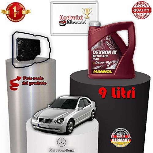 KIT FILTRO CAMBIO AUTO E OLIO W203 C 180 95KW 2001 -> 2002 1076