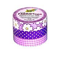 Folia 27303 - Fabric Tape, 3-er Set, rosatöne