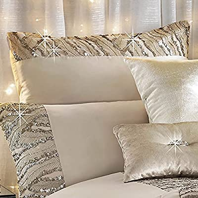 Kylie Minogue Celeste Housewife Pillowcase Bedding Bed Linen Art Deco glamour In Shell Pink - cheap UK light store.