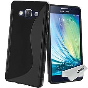 Avizar - Coque Silicone Gel S-Line pour Samsung Galaxy A5 - Noir