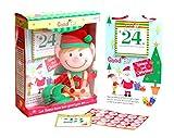 L'Elfo Buono Peluche Con Adesivi & Calendario Natale
