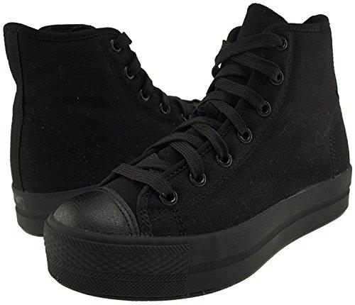 Maxstar  N30-7H-All, Chaussons montants femme Noir - noir