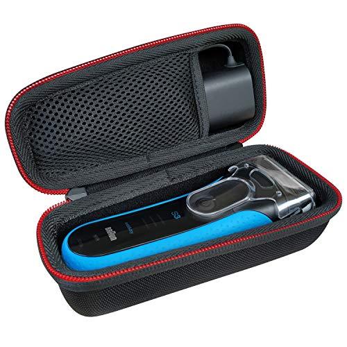 Tasche für Braun Series 3 ProSkin Braun 3040s Braun 3010BT Braun 3020 Braun 3030s Braun 300s Elektrischer Rasierer Hülle Case Etui Tragetasche von KOKAKO