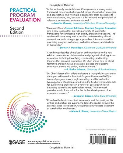 Practical Program Evaluation: Theory-Driven Evaluation and the Integrated Evaluation Perspective