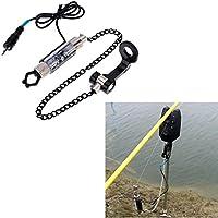 Everpert - Indicador LED de Pesca con alarmas de Pico, Perchas iluminadas para Pesca, Verde
