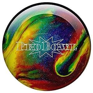 Bowlingball Pro Bowl violet/blue/yellow sparkle