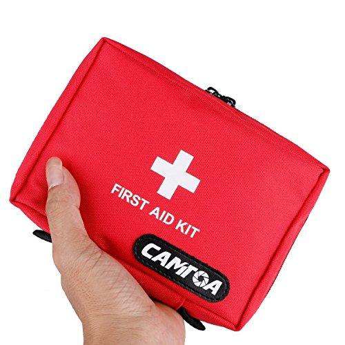 CAMTOA Erste-Hilfe-Set kleine First Aid Kit leeren Medical Emergency Beutel-Reisen Outdoor Sport Responder Notfalltasche