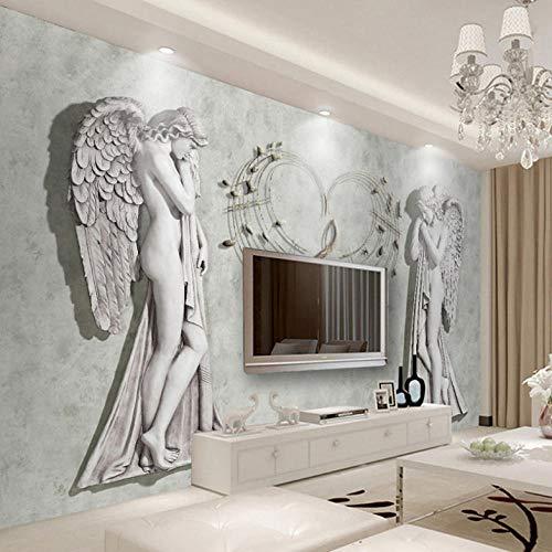 Lllyzz Benutzerdefinierte 3D Fototapete Europäischen Engel Kunst Wandmalerei Wandverkleidung Moderne Wohnzimmer Schlafzimmer Tv Hintergrund Wandbild Dekor-1㎡ -