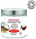 Organic Coconut Oil 800 ml Virgin White Cold-pressed Raw Coconut Oil Fair Trade