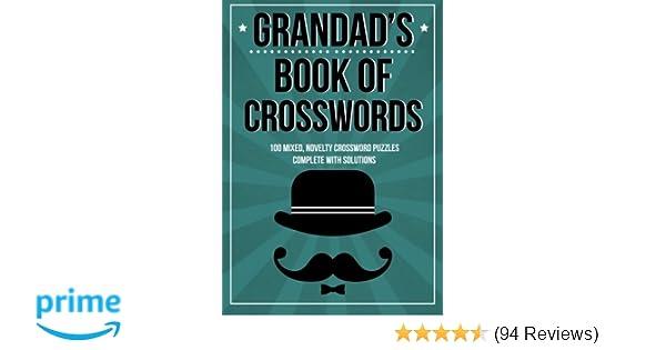 Christmas In Italy Crossword.Grandad S Book Of Crosswords 100 Novelty Crossword Puzzles Amazon