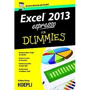 Excel 2013 espresso For Dummies (Hoepli for Dummies)