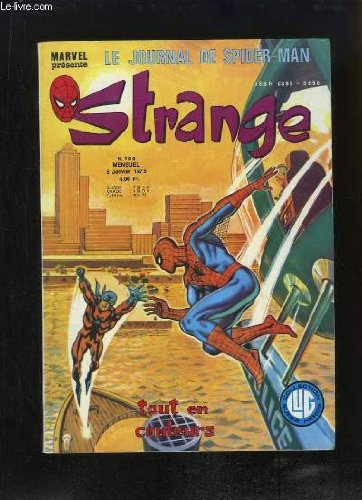 Strange, le journal de Spiderman - N°10...