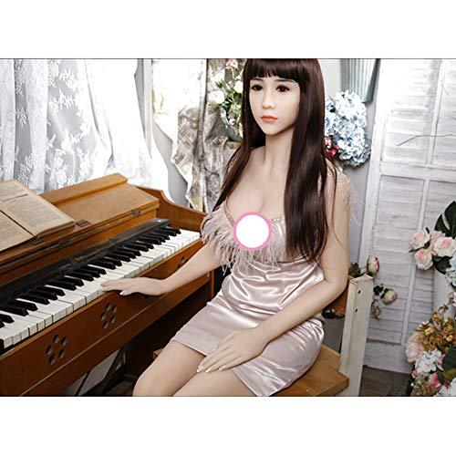 Aufblasbare Puppe für Mann Liebespuppe Perfekte Frau Puppe, Adult Entertainment Products Semi-Silikon kann alle Arten der Herstellung von Liebeshaltung (Privatversand) 160cm 165cm üben-Natalie-165CM