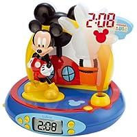 Cefatronic Radio Despertador proyector Mickey