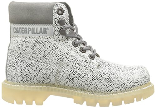 Caterpillar - Colorado, Stivali Chukka da donna bianco (white/silver)