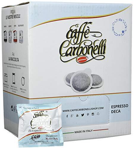 Caffè Carbonelli 150 Cialde Ese, Decaffeinato - 1 Scatola