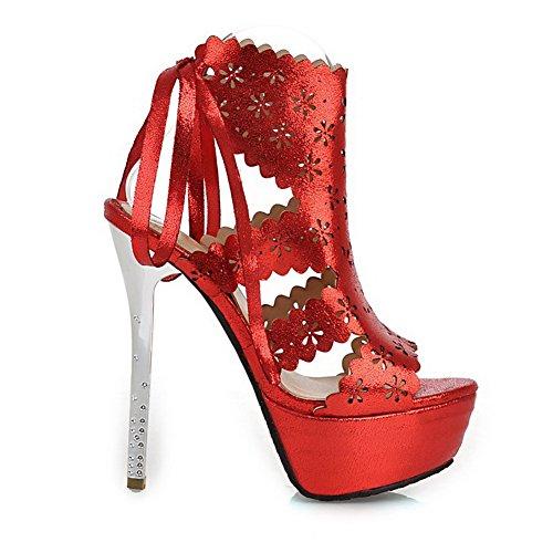 Adee, Sandali donna Rosso