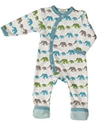 Pigeon-Organics For kids pijama Long Elephant Azul Mix recién nacido