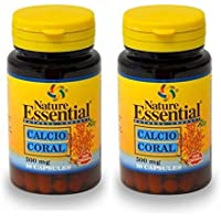 CALCIO CORAL 500 mg 50 cápsulas (Pack ...