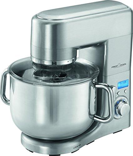 Profi Cook PC-KM 1096Robot de cuisine multifonction, 10L, 1500W, acier inoxydable