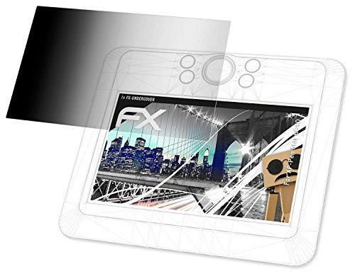 XP-Pen Star G640 Blickschutzfolie - atFoliX FX-Undercover 4-Wege Sichtschutz Blickschutzfilter Displayschutzfolie