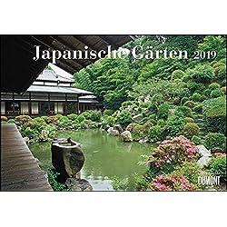 Japanische Gärten 2019 - Broschürenkalender - mit informativen Texten - mit Jahresplaner - Format 42 x 29 cm
