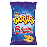 Walkers Wotsits Really Cheesy Multipack Snacks, 6 x 16.5 g