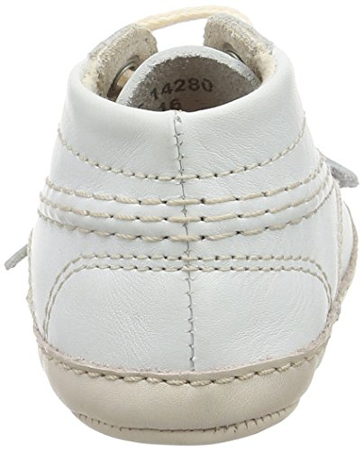 Kickers Kick Bonnie B, Boots pour bébé rampeur mixte bébé Blanc