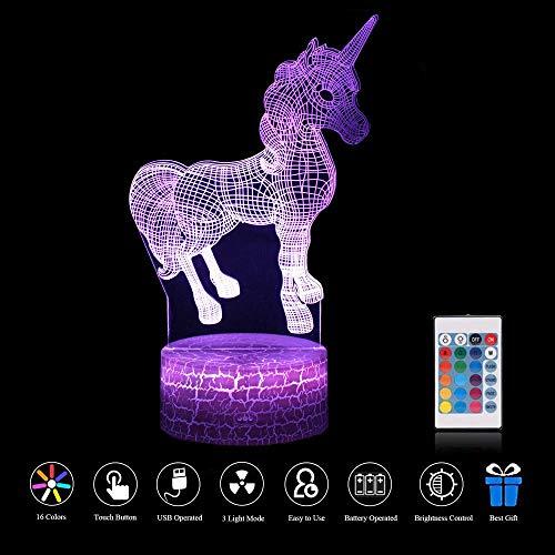 Base Lampe Mix Décoration OptiqueT Light Changeantes Touch De Usb Night Led D'illusion 3d Télécommande Chambre 7 Couleurs Crack Pour Bébé wOPkXuZiT