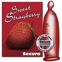 Secura Sweet Strawberry - 1 Kondom preisvergleich bei billige-tabletten.eu