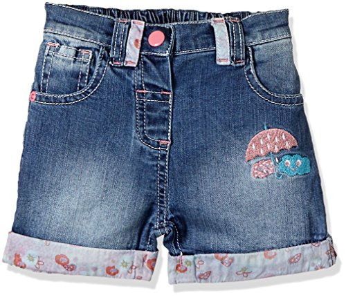 Donuts Baby Girls Shorts (267619849_Blue_18M)