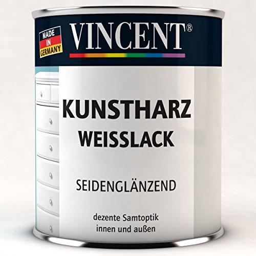 Kunstharz-Weißlack  <strong>Verarbeitung</strong>   Rollen, Streichen