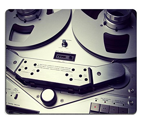 Luxlady Tappetini in gomma naturale immagine ID 31802369Stereo analogico Bobina Aperta Tape Deck Registratore Vintage Closeup - Id Bobina