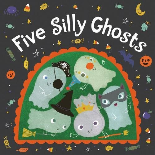 Five Silly Ghosts Board Book
