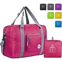 WANDF Foldable Travel Duffel Bag Super Lightweight for Luggage, Sports Gear or Gym Duffle,