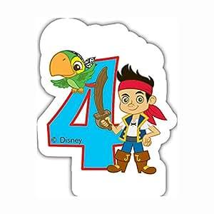 Yo Ho Ho Disney Jake et les pirates du Pays 4Bougie d'anniversaire