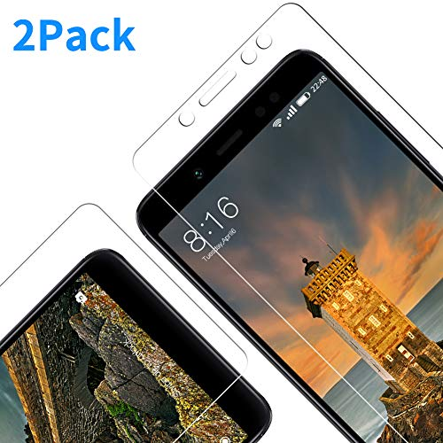 Vkaiy Panzerglas Schutzfolie für Xiaomi Redmi Note 5 , 2 Stück , 9H Härte, 3D Touch Kompatibel, Anti-Kratzen Panzerglasfolie, Schutzglas Glasfolie, Bildschirmschutzfolie für Redmi Note 5