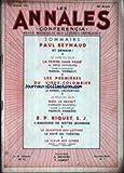 CONFERENCIA [No 2] du 01/01/1951 - PAUL REYNAUD - ET DEMAIN - LA FEMME SANS PASSE DE SERGE GROUSSARD Ôé¼R MARCEL THIEBAUT - LES PREMIERES DU VIEUX-COLOMBIER PAR VALENTINE TESSIER ET DANIEL LECOURTOIS - DIEU LE SAVAIT D'ARMAND SALACROU PAR F. AMBRI