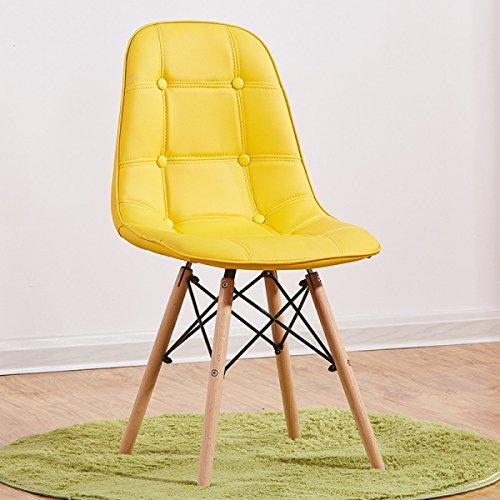 GEXING Chaise Pliante/Lavable Simple Home Chaise Pliante/Computer Leisure Chair/Chaise De Bureau Simple/Chaises en Plastique,C-39 * 45 * 84cm