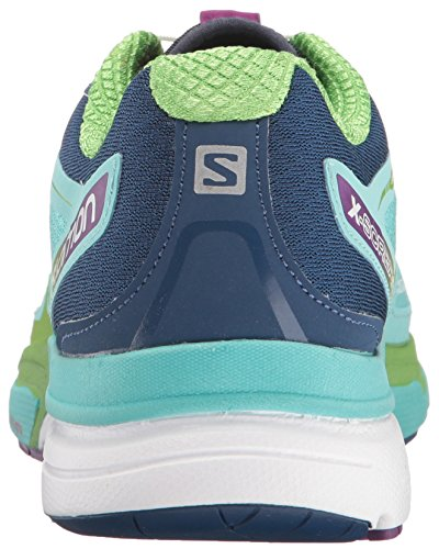 Salomon Damen L38307300 Trail Runnins Sneakers, Rosa Blau