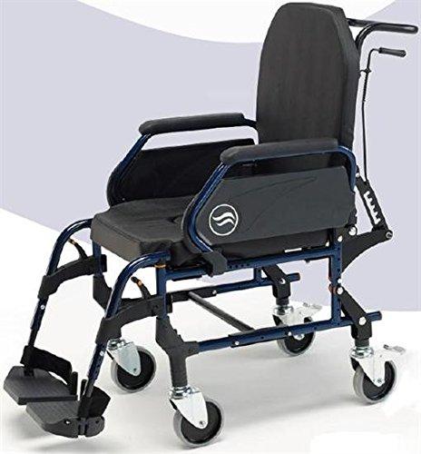 Rollstuhl inodoro- Sunrise mit Stahl-Innenraum, verstellbare Rückenlehne (Stahl-rollstuhl)
