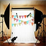 Generic 1.5m * 1m Blanc Photographie de Sol en bois Backdrop bébé Photo Studio